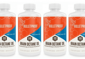Brain Octane MCT-olja, 4 x 90 ml