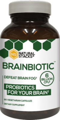 BrainBiotic Probiotics, 30 kapslar