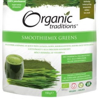 Smoothiemix Greens juicepulver, 150 g