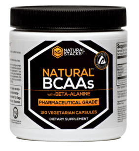 BCAAs med Beta-Alanine, 120 kapslar - Natural Stacks