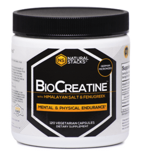 BioCreatine Optimal Creatine Complex, 120 kapslar - Natural Stacks
