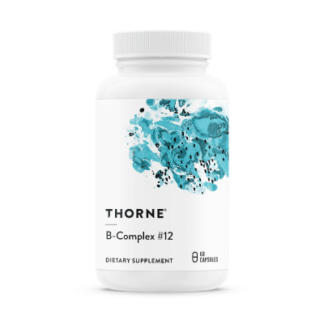 B-Complex #12, 60 kapslar - Thorne Research