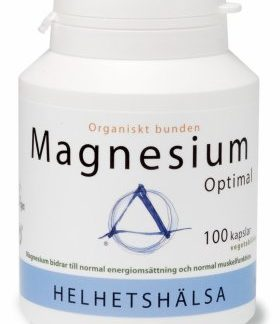 Magnesium Optimal 125 mg, 100 kapslar - Helhetshälsa
