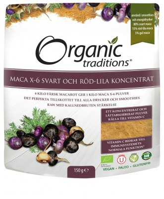 MACA X-6 - Organic Traditions