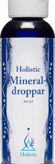 Mineraldroppar, 60 ml - Holistic