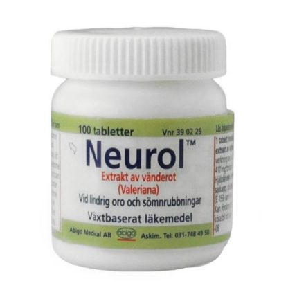 Abigo Neurol, dragerad tablett 100 st