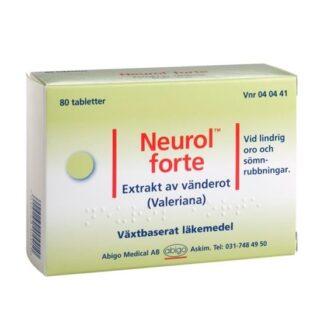 Abigo Neurol forte, dragerad tablett 80 st