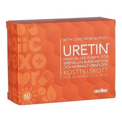 Acrilex Uretin 60 kapslar