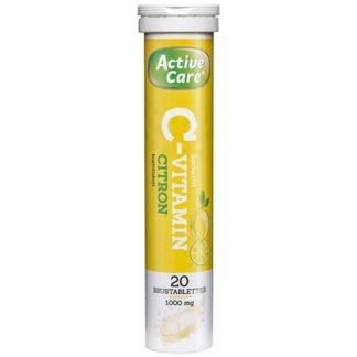 Active Care C-vitamin Citron 20 brustabletter