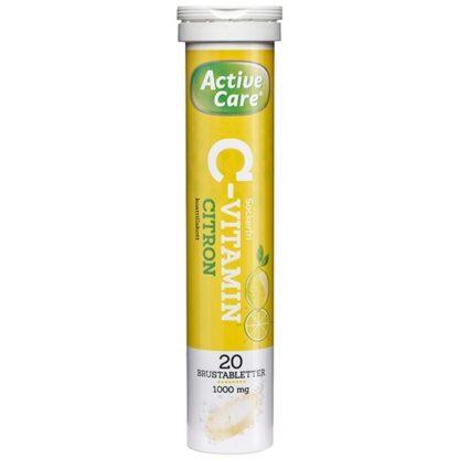 Active Care C-vitamin Citron 20 brustabletter
