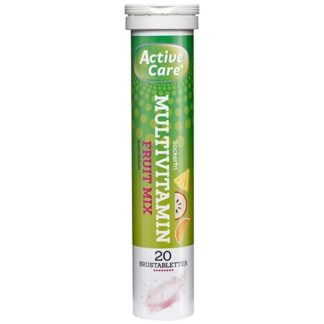 Active Care Multivitamin BCDE Fruitmix 20 brustabletter