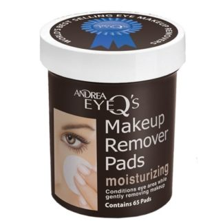 Andrea Eye Q's Remover Pads Moisturizing 65 st