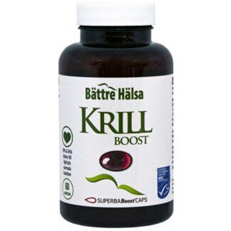 Bättre Hälsa Krillolja Omega-3 60 kapslar