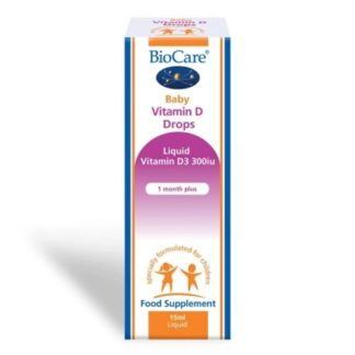 BioCare Baby Vitamin D Drops 15 ml