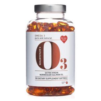 BioSalma Omega3 Salmon Oil 1000 mg 180 kapslar