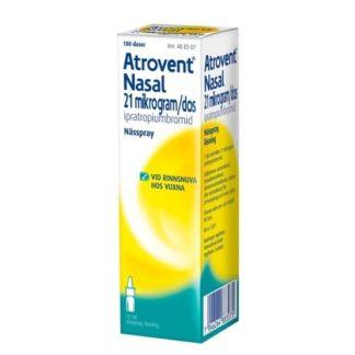 Boehringer Ingelheim Atrovent Nasal nässpray, lösning 21 mikrogram/dos 180 doser
