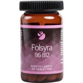 Bringwell Folsyra B6 B12, 90 tabletter