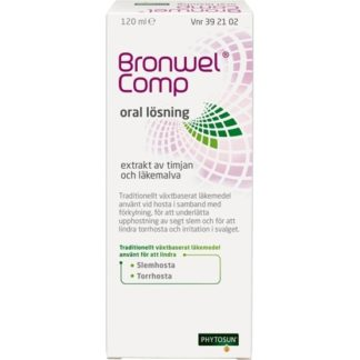 Bronwel Comp, oral lösning 120 ml