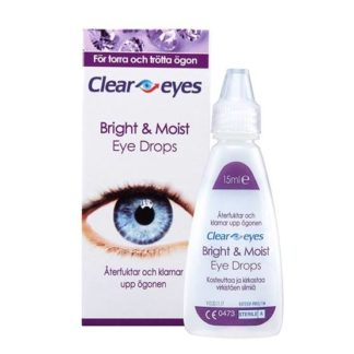 ClearEyes Bright & Moist 15 ml