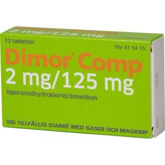 Dimor Comp, tablett 2 mg/125 mg 12 st