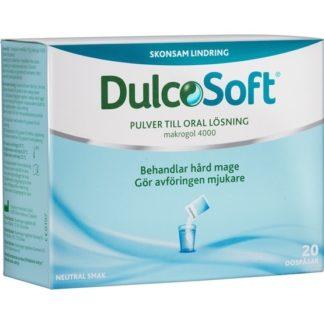 Dulcolax DulcoSoft pulver dospåsar 20 st