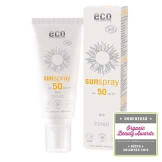 Eco Cosmetics Toned Q10 Sunspray SPF 50 100 ml