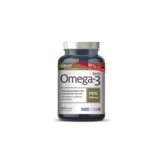 Elexir Pharma Elexir Omega-3 forte 132 kapslar