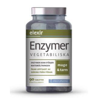 Elexir Pharma Enzymer Vegetabiliska 90 tabletter