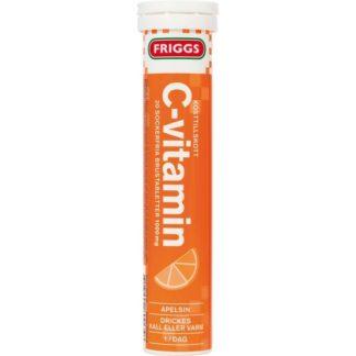 Friggs C-Vitamin Apelsin 20 Brustablettetter