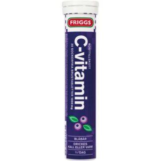 Friggs C-Vitamin Blåbär 20 brustablettetter