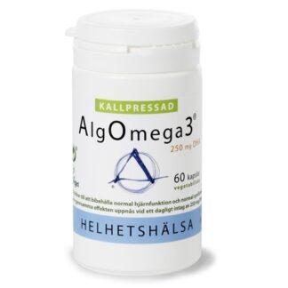 Helhetshälsa Kallpressad AlgOmega3 60 kapslar