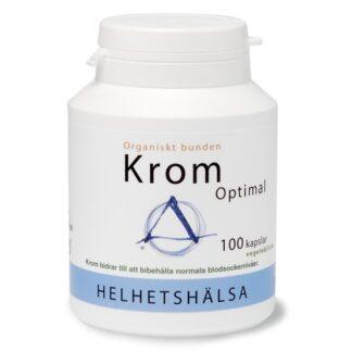 Helhetshälsa Krom Optimal 100 kapslar
