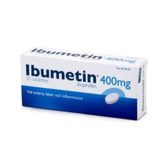 Ibumetin, tablett 400 mg 30 st