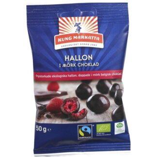 Kung Markatta Hallon i Mörk Choklad Eko 50 g