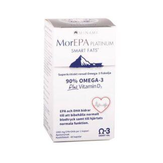 MorEPA Platinum 25D 60 kapslar