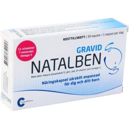 Natalben Gravid 30 kapslar
