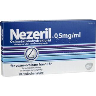 Nezeril Näsdroppar, Lösning i endosbehållare 20 st
