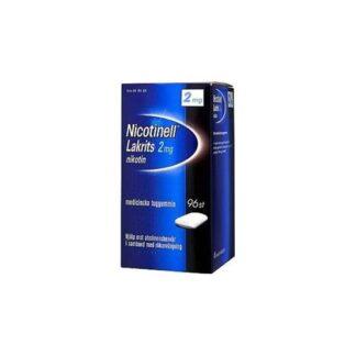 Nicotinell Lakrits, medicinskt tuggummi 2 mg 96 st