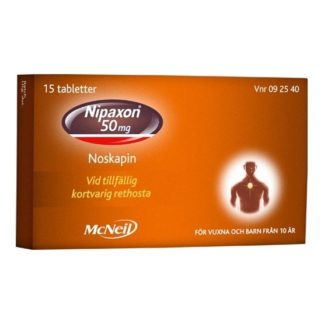 Nipaxon tablett 50 mg 15 st