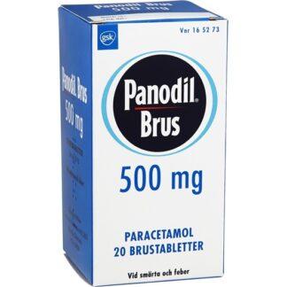 Panodil Brus 500 mg 20 brustabletter