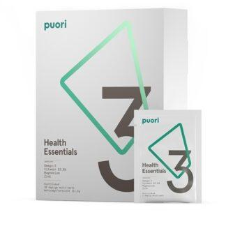Puori 3 Omega-3, Vitamin D3, Magnesium 30 doser