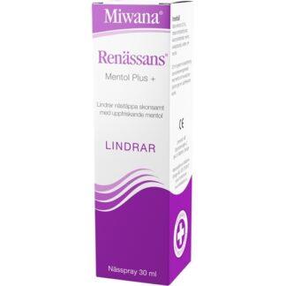 Renässans Mentol Plus, Nässpray 30 ml