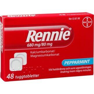 Rennie, tuggtablett 680 mg/80 mg 48 st