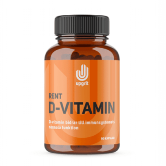 Rent D-vitamin, 90 kapslar - Upgrit