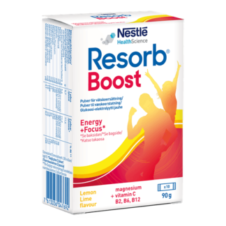 Resorb Boost Citrus 10 dospåsar