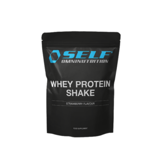 Self Omninutrition Whey Protein Shake Jordgubb 1 kg