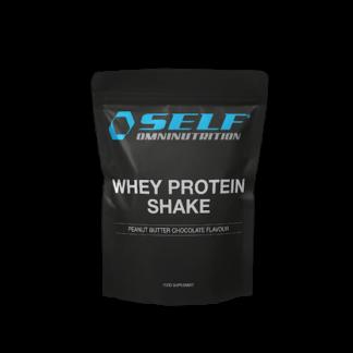 Self Omninutrition Whey Protein Shake Jordnötssmör 1 kg
