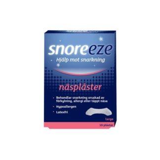 Snoreeze Näsplåster Small/Medium 10 st