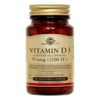 Solgar Vitamin D3 50 kapslar
