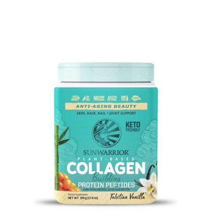 Sunwarrior Collagen Building Protein peptides 500 g Vanilj